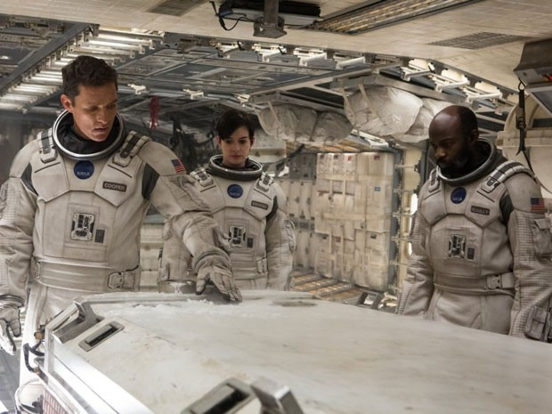 Matthew McConaughey, Anne Hathaway e David Oyelowo em cena de 'Interestelar', de Christopher Nolan (Foto: Divulgação)