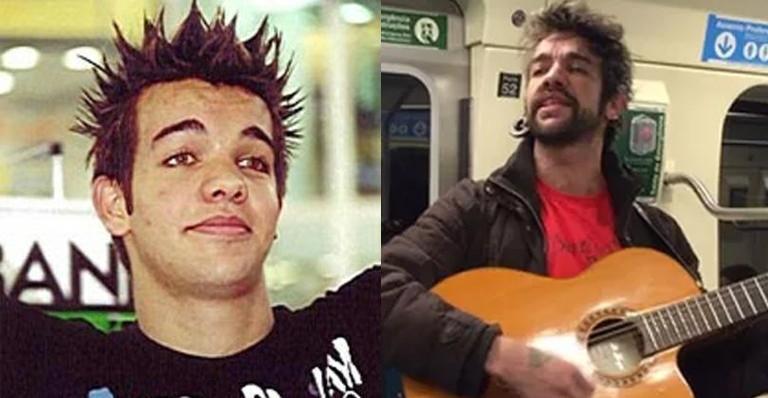 Sander, do Twister, antes e depois  (Foto: Reprodução)