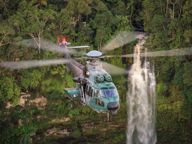 Buscas por ultraleve desaparecido no Maranhão continuam  (Foto: sgt Johnson / Força Aérea Brasileira)