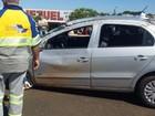 Acidente entre dois carros deixa feridos na rodovia Euclides da Cunha