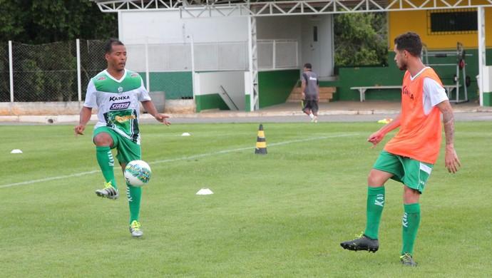 Marcos Aurélio, Luverdense 2017 (Foto: Maico Gaúcho/Luverdense)