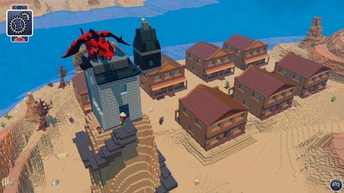 Lego Worlds é o novo game criado para competir com Minecraft (Foto: Divulgação) (Foto: Lego Worlds é o novo game criado para competir com Minecraft (Foto: Divulgação))