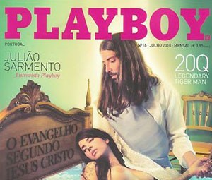Capa da edição de julho de 2010 da 'Playboy' de Portugal (Foto: Divulgação)