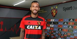 Leandro Pereira Sport (Foto: Williams Aguiar/Sport Club do Recife)