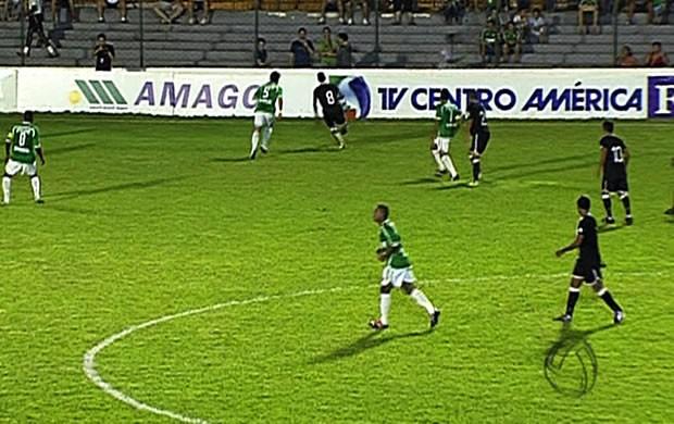 Mixto conquistou última vaga na semifinal do Mato-grossense após empate com Cuiabá (Foto: Reprodução/TVCA)