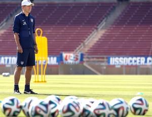 Jurgen Klinsmann Treino Seleção Estados Unidos (Foto: Agência AP )
