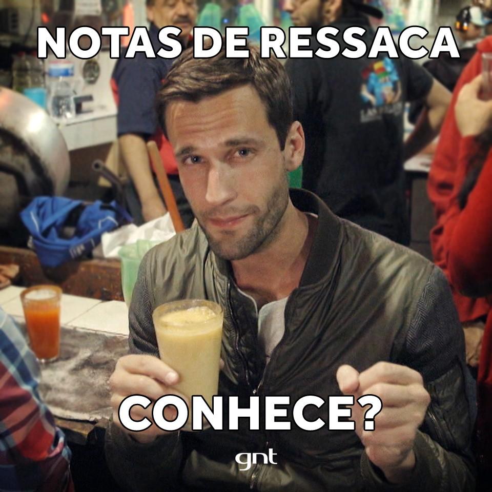 Pedro Pelo Mundo_Temporada 2_Episdio 1_Mxico_Pedro Andrade_Meme ressaca (Foto: Reproduo / GNT)