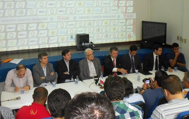 Bahia apresenta diretoria; Fernando Schmidt (Foto: Raphael Carneiro)