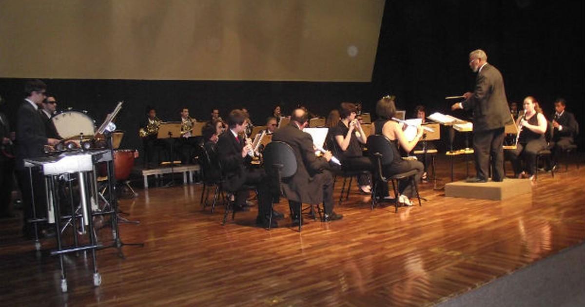 Banda Sinfônica comemora 10 anos de existência em Sorocaba, SP