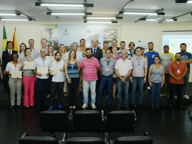 Curso foi resultado e parceria entre Prefeitura, por meio da Sema, com Fundação Toyota do Brasil (Foto: Emerson Ferraz)