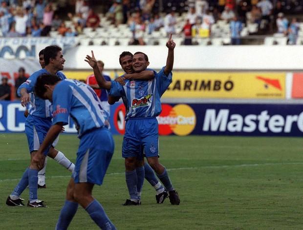 Atacante Iarley jogou no Paysandu em 2003 .  (Foto: Raimundo Pacco/O Liberal)