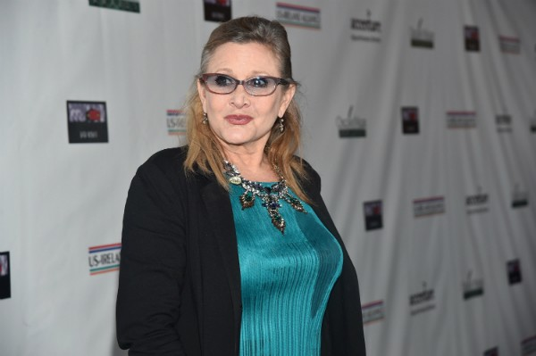 A atriz Carrie Fisher voltará aos cinemas no novo episódio de 'Star Wars' (Foto: Getty Images)