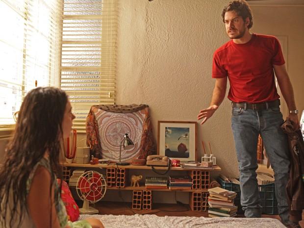 Rafael fica furiosa com justificativa de Sandra (Foto: Pedro Curi/TV Globo)