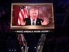 Oficialmente candidato, Trump diz que levará mudança a Washington