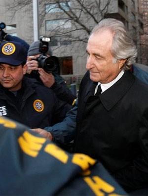 Bernard Madoff cumpre pena por fraude piramidal nos EUA (Foto: AP)