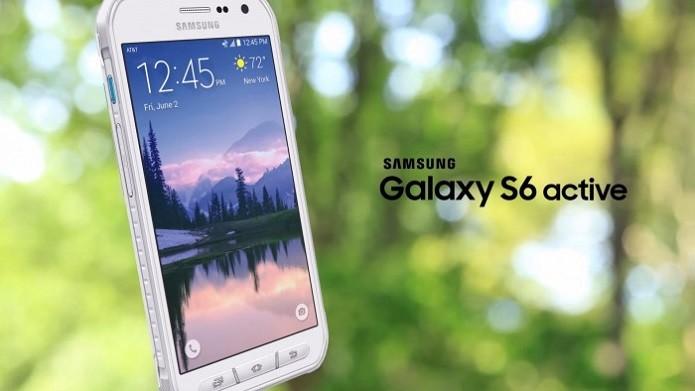 Galaxy S6 Active é resistente à água, poeira e quedas (Foto: Divulgação/Samsung)
