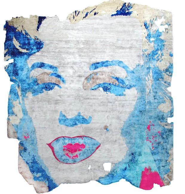 """Henzel Studio - Andy Warhol """"Marilyn"""" com design de Calle Henzel - valor inicial US$ 12.300 (Foto: Divulgação)"""
