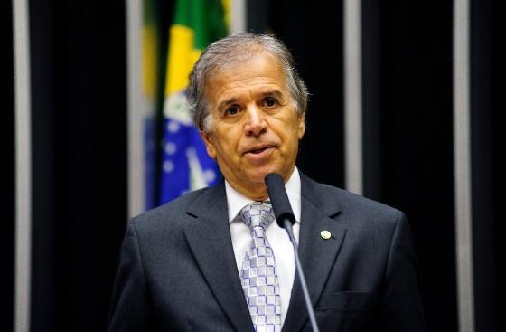 O ministro dos Portos, Edinho Araújo (Foto: Gustavo Lima / Câmara dos Deputados)