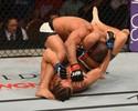 Diego Brandão é pego em triângulo e sofre derrota para Ortega no UFC 195