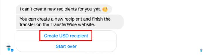 No Messenger, selecione a opção para criar o destinatário  (Foto: Reprodução/Karen Malek)