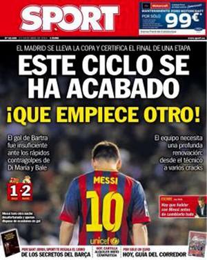 Capa Sport  Barcelona (Foto: Reprodução)