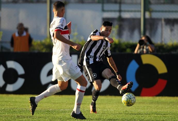Diogo Barbosa, Botafogo (Foto: Vitor Silva/SSPress/Botafogo)