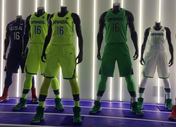 feee73b2f Fluorescente dá o tom nos uniformes olímpicos do basquete e atletismo