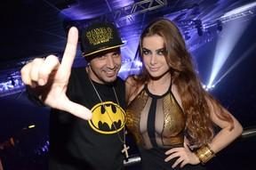 Latino e Rayanne Morais (Foto:  Bruno Henrique / Barra Music / Divulgação)
