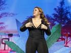 Preta Gil canta com Ivete Sangalo e Anitta em show