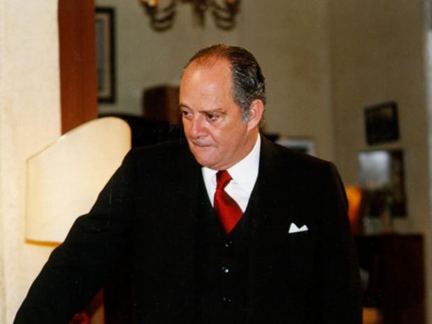 Cláudio Marzo em 'Era uma vez',de 1998 (Foto: Divulgação/TV Globo)
