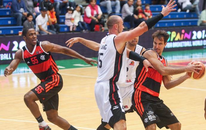 Basquete - Cocodrilos x Flamengo - Marcelinho (Foto: Samuel Vélez / FIBA Américas)
