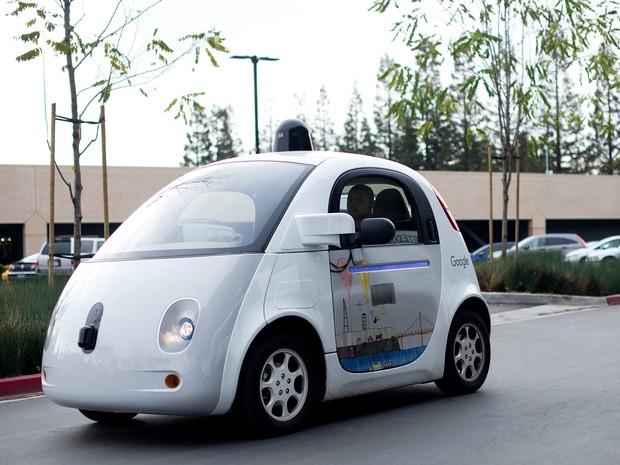 É a primeira parceria formal do Google em carros autônomos (Foto: Noah Berger/AFP)