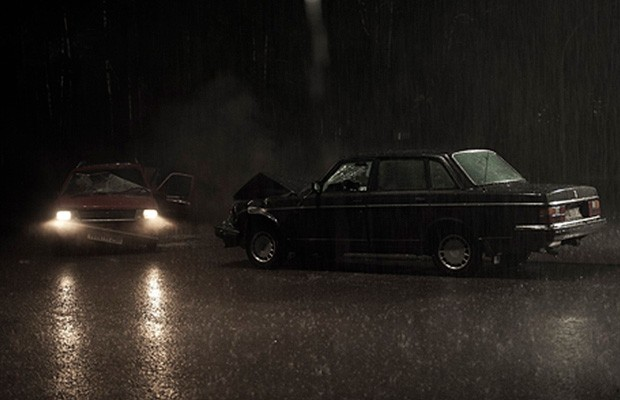 Os carros da série Dark, da Netflix (Foto: Reprodução)