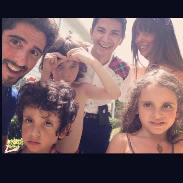 Marcos Mion e a familia na Disney (Foto: Instagram/Reprodução)