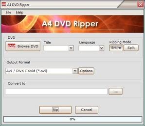 A4 DVD Ripper