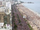 Simpatia é Quase Amor volta a arrastar multidão em Ipanema