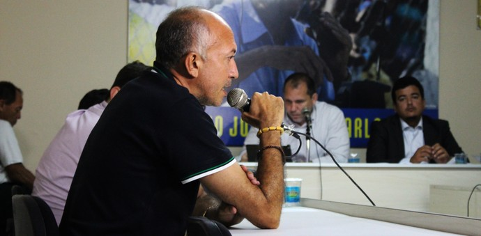 Warton Lacerda, Altos, presidente  (Foto: Josiel  Martins)
