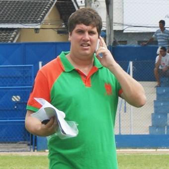 Leonardo Silvério Atibaia vice-presidente (Foto: Fabio Giannelli / Soccer Digital)