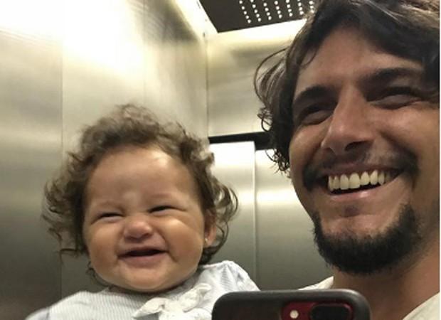 Bruno Gissoni e Madalena (Foto: Reprodução/Instagram)