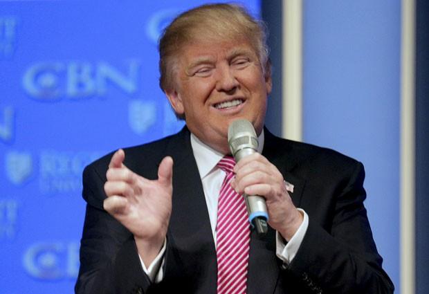 Ilha canadense oferece exílio a críticos de Trump, pré-candidato do partido Republicano à presidência dos EUA (Foto: Joshua Roberts/Reuters)