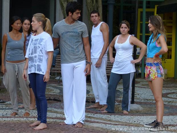 Fatinha vai dar bafão: SIM ou CTZ? KKKKK  (Foto: Malhação / Tv Globo)