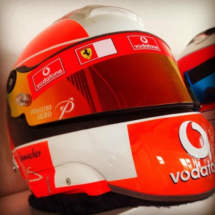 Barrichello parabéns Schumacher (Foto: Reprodução / Instagram)