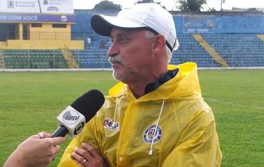 Luiz Muller técnico São Carlos (Foto: Rovanir Frias / Assessoria SCFC)