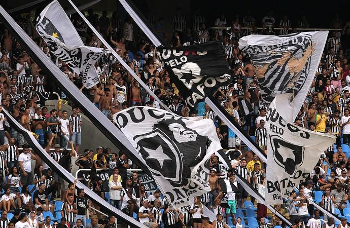 Torcida engenhão Botafogo x Bonsucesso (Foto: Vitor Silva / SSPress)