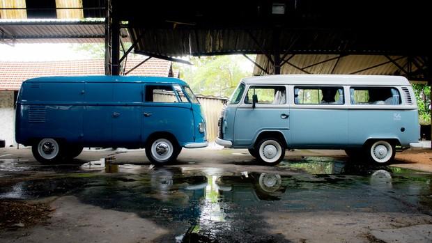 FOTOS: Kombi Panelvan 1950 encontra a Last Edition