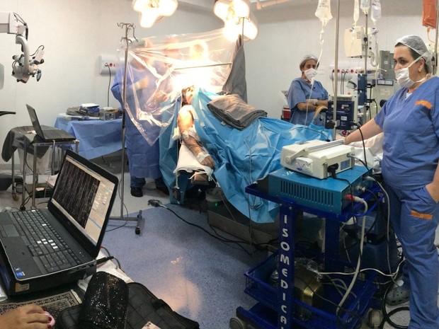 Cirurgia foi realizada em janeiro deste ano (Foto: Rosa Santos/A Tribuna)