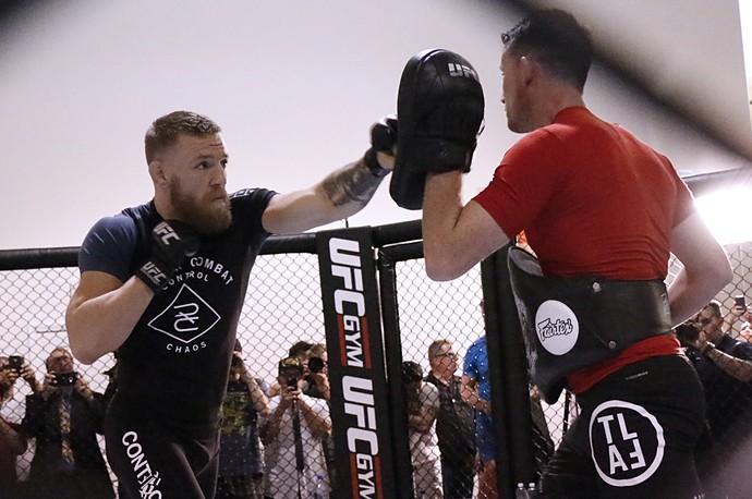 Conor McGregor; Media Day; UFC 202 (Foto: Evelyn Rodrigues)