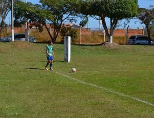 Pedro Lucas, em peneira do Palmeiras em Rondônia (Foto: Eliete Marques)