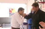 Rhodes Lima recebe a faixa marrom de jiu-jítsu