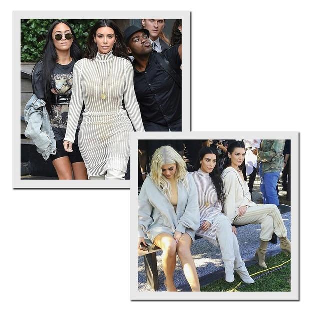 A família Kardashian-Jenner-West (Foto:  Reprodução/Instagram)